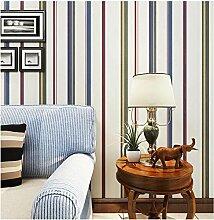 Yosot Einfache Farbe Gestreifte Tapete Wohnzimmer