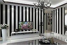 Yosot Einfache Moderne Schwarz-Weiß Gestreifte