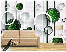Yosot Große Wandmalereien Phantom Grünes Blatt