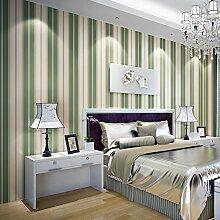 Yosot Modern Gestreifte Vlies Tapete Schlafzimmer