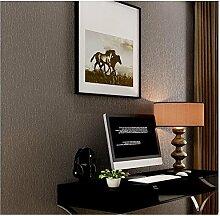 Yosot Moderne Einfache Und Umweltfreundliche Pvc-Tapete Reine Farbe Wasserdichte Tapete Kaffee