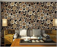 Yosot Retro Holzbrett Tapete 3D Wohnzimmer Tapete