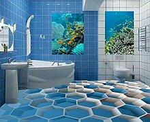 Yosot Tapete 3D Bodenfliesen Für Badezimmer