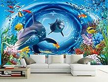 Yosot Tapete 3D Unterwasserwelt Cartoon Kinder