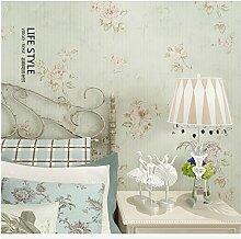 Yosot Warme Rosen Und Altes Schlafzimmer Tapete Hellgrün