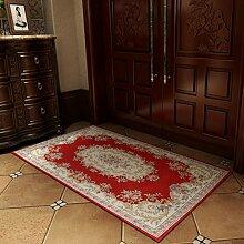YOTA HOME Teppiche Fußmatten Schlafzimmer Teppich Teppich Matten Mode Bad Matten Halle Eingang Kann Maschinenwäsche 40 * 60 cm, 50 * 80 cm, 60 * 90 cm, (Größe : 50*80CM)