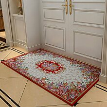 YOTA HOME Teppiche Mats Fashion Bathroom osmanischen Tür Schlafzimmer Teppich Bad Tür Kann Maschine Waschen 40 * 60 cm, 50 * 80 cm, 60 * 90 cm, (Größe : 50*80CM)