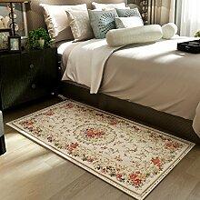 YOTA HOME Teppiche Mats Teppich Badezimmer Teppich Stilvolle Osmane Tür Badezimmer Tür Kann Maschinenwäsche 40 * 60 cm, 50 * 80 cm, 60 * 90 cm, (Größe : 50*80CM)