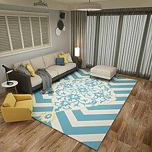 YOTA HOME Teppiche Teppich Mode Wohnzimmer Teppiche Teppiche Decke Schlafzimmer Nacht Betten Startseite 120cm × 160cm (Farbe : A)