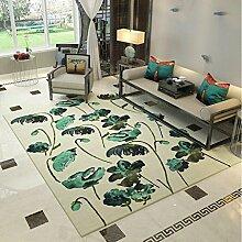 YOTA HOME Teppiche Teppich Moderne Waschbare Wohnzimmer Nachttisch Sofa Couchtisch Schlafzimmer 120cm × 160cm (Farbe : B)