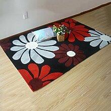 YOTA HOME Teppiche Teppich Schlafzimmer Nachttisch Europäischen Handgefertigten Wohnzimmer Couchtisch Modernen Minimalistischen 120 * 170cm (Farbe : A)