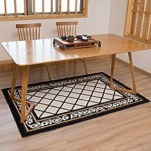 YOTA HOME Teppiche Teppich Teppich Einfaches Wohnzimmer Sofa Couchtisch Schlafzimmer Europäischen Rechteckigen Teppichboden 120cm × 180cm