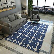 YOTA HOME Teppiche Teppich Wohnzimmer Teppiche Couchtisch Decke Bedside Teppiche Startseite Minimalist Modern 120cm × 160cm (Farbe : B)
