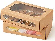 Yotruth 20,3 x 13,5 x 5,1 cm Gebäck- und Keksbox,