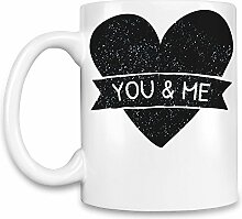 You And Me Kaffee Becher