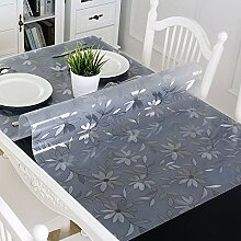 Yougernok Tischdecke Tischdecken PVC Transparente