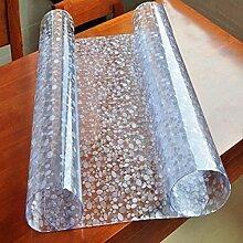 Yougernok Tischdecke Weiche PVC-Glastischdecke