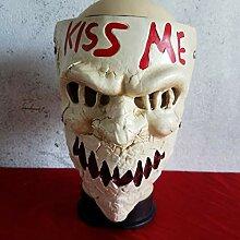 youjiu Dekoration .Halloween Horrormasken Teufel