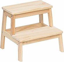 YOUjU YX Shop® Stufenhocker Aus Massivem Holz