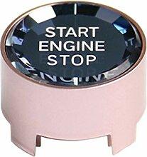 YOUNG4 Auto Motor Start Stop Knopf Kohlefaser Auto