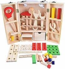 youngfate Werkzeugkasten Kinder Holz Ab 2 Jahre 3