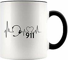 YouNique Designs Dispatcher Kaffeebecher, 313 ml,