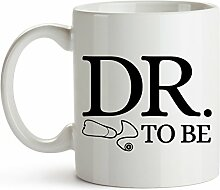 Younique Designs Dr. To Be Kaffeebecher, 325 ml,