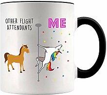 YouNique Designs Kaffeebecher mit Flugbegleiter,