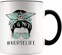 YouNique Designs Krankenschwester Life Tasse, 313