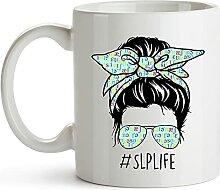 YouNique Designs SLP Tasse, 325 ml, Sprachsprache