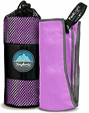 Youphoria Outdoors Mikrofaser-Camping-Handtuch,