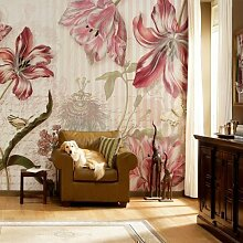 Your Design  fototapete Blumen mit Schrift - 368 x 254 cm , Foto Tapete kom-8-a-510