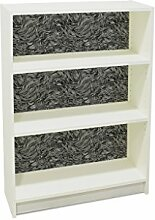 YOURDEA - Aufkleber für Möbel IKEA Billy Regal 100x80cm mit Motiv: Haare