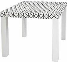 YOURDEA - Aufkleber für Möbel Sticker für IKEA Lack Tisch Beistelltisch Couchtisch Motiv mit Motiv: Bucheckern