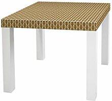 YOURDEA - Aufkleber für Möbel Sticker für IKEA Lack Tisch Beistelltisch Couchtisch Motiv mit Motiv: Viking
