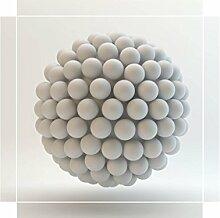 YOURDEA - Möbel Tattoo Sticker für IKEA Lack Tisch Couchtisch Beistelltisch Motiv mit Motiv: Ping Pong Ball inklusive Rakel