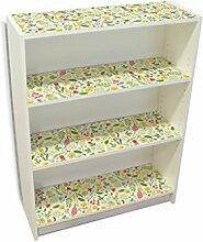 YOURDEA - Möbelaufkleber IKEA Billy Regal Böden