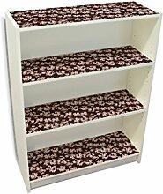 YOURDEA - Möbelsticker IKEA Billy Regal Böden 100x80cm Möbel Sticker mit Motiv: Kirschblüten