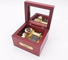 YouTang Holz Musik Box, Mini Musik Box mit