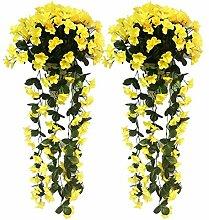 youthny Künstliche Wisteria Vine Fake Blumen