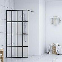 YOUTHUP Duschwand für Begehbare Dusche Hartglas