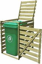 YOUTHUP Mülltonnenbox für 1 Tonne 240 L