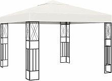YOUTHUP Pavillon 3×3 m Creme Stoff
