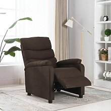 YOUTHUP Relaxsessel Braun Stoff