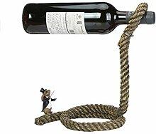 YOUZHI Weinflaschenregal Europäisches kreatives