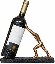 YOUZHI Weinregal kreative Moderne Weinschrank