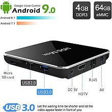 YPSMCYL H96 TV Box Android 9.0 H96 MAX 4 GB 64 GB