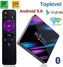 YPSMCYL HD Network Player Android 9.0 4 GB + 32 GB