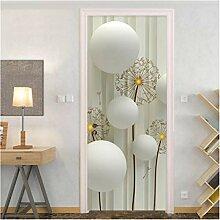 YPXXPY Tür Wandaufkleber 3D Tür Aufkleber Ballon