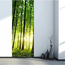 YPXXPY Tür Wandaufkleber 3D Tür Aufkleber Berg